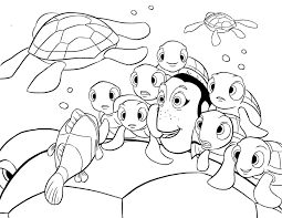Crush Squirt Coloring Page For Finding