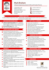 Latest Resume Format Standard Free Download Of Best New Sample Te
