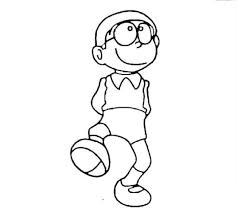 Nobita no takarajima membawa karakter terkenal ke laut karibia; Collection Of The Most Beautiful Nobita Coloring Pictures