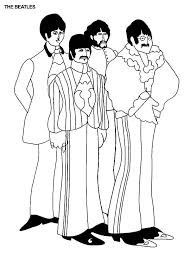 Small Picture The Beatles Abbey Road Coloring Pages Batch Coloring
