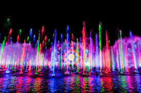 Disney World Water Light Show Live Shows And Performers Across Disneyland Resort