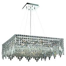 a large image of the elegant lighting 2033d28c elegant cut clear crystal