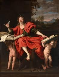 john the evangelist st john the evangelist by domenichino domenico zampieri 1620s