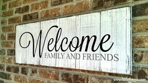 Lake Decor Accessories Welcome To The Lake Decor Sign Home Family Porch Wood Like This 83
