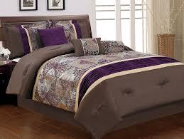 King Bedroom Bedding Sets Purple Bedding Set King Shaibnet