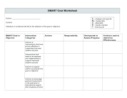 Lesson Plan Printable Template Goal Setting Worksheet For Elementary Students Pdf Printable Lesson