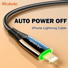 Cáp sạc nhanh Mcdodo tự động tắt nguồn thông minh cổng Lightning USB cho  iPhone iPad giá cạnh tranh