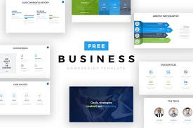 Business Powerpoint Templates Free Free Business Powerpoint Template On Behance