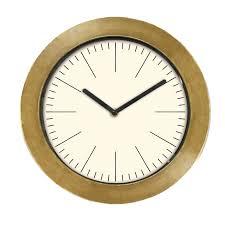 Innova <b>Часы настенные круглые</b> 29 см classic <b>дерево</b>, золото ...