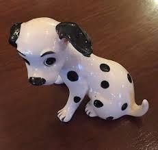 vine walt disney 101 dalmatians dog figurine enesco an