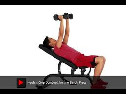 How To Do The Incline Neutral Dumbbell Press  Menu0027s HealthIncline Bench Press Grip
