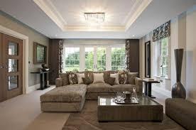 patterned area rug over beige broadloom