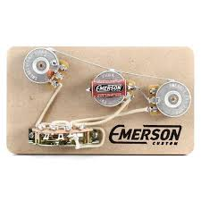 emerson custom blender 5 way strat prewired kit emerson custom
