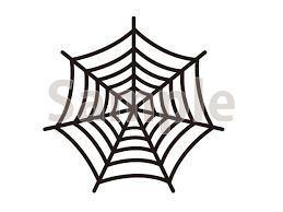 クモの巣のイラストハロウィンに使える切り抜き画像 無料イラスト