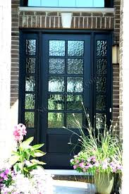 plain door glass panel exterior door wooden front doors with best intended glass panel exterior door