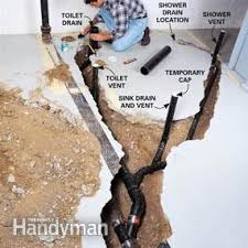 basement bathroom systems. How To Plumb A Basement Bathroom Systems