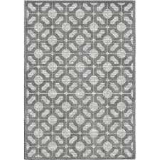 5x7 indoor outdoor rugs 5 x 7 medium gray indoor outdoor rug