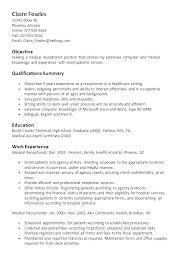 Sample Resume Receptionist Job Description Duties For Re Stunning Receptionist Duties Resume