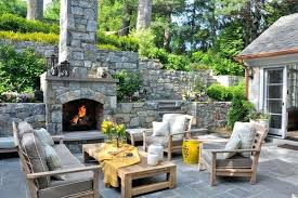 stone outdoor fireplace view in gallery outdoor stone fireplace kits ontario