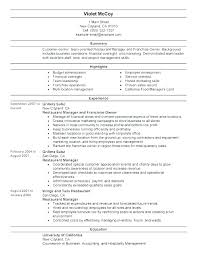 Bartender Resume Example Fascinating Resume Templates For Servers Bartenders Fuelstudioco