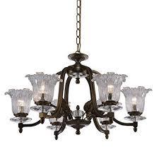 renfang lighting warm white 8 light iron industrial vintage chandelier ceiling