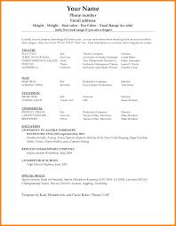 7 Resume Outline Word Forklift Resume