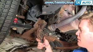 how to install replace lower engine mount isolator cavalier how to install replace lower engine mount isolator cavalier sunfire 95 05 1aauto com