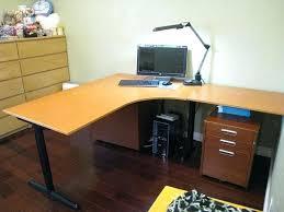 l shaped computer desk ikea l shaped desk ikea canada