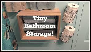 Tiny Bathroom My Tiny Bathroom Organization Youtube