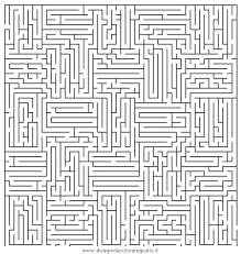 Disegno Labirintomoltodifficile05 Categoria Giochi Da Colorare