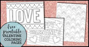 When a child colors, it improves. Free Printable Valentine Coloring Pages Paper Trail Design