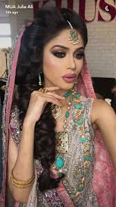 absolutely stunning bridal look created by julie ali for khush magazine autumn 2016 issue in love with the hair makeup and outfit