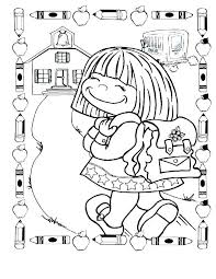 First Day Of Kindergarten Coloring Sheets Awesome First Day Of ...