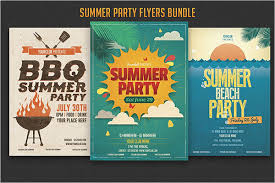 Summer Party Flyers 48 Summer Party Flyer Templates Free Word Psd Designs