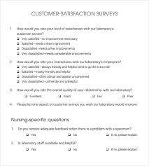 customer service satisfaction survey examples sample customer satisfaction survey 14 documents in pdf word