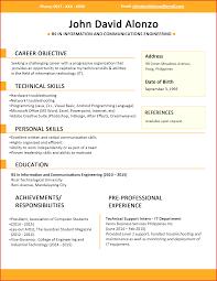 New Format For Resume Formal Letter