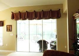 amazing cornice for sliding glass door design window valance for sliding  door that will present mesmerizing