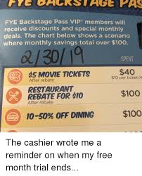 Fye Size Chart Fye Backstage Pass Vip Members Will Receive Discounts And