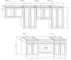 Standard Kitchen Base Cabinet Sizes Chart Kitchen Cabinet Sizes Chart Dessievannest Co
