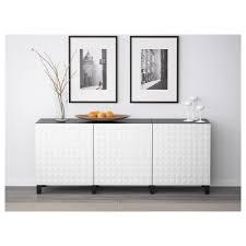 Besta Storage Combination With Doors Whiteselsviken High Gloss