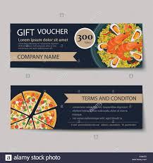 Food Voucher Template Set Of Food Voucher Discount Template Design Stock Vector Art 13
