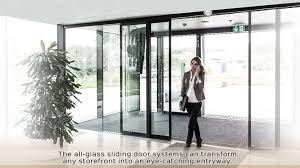 smart automatic sliding door system