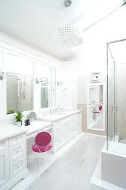 crystal chandelier for bathroom double image by design mini