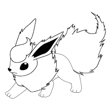 Small Picture Flareon Coloring Pages Coloring Coloring Pages