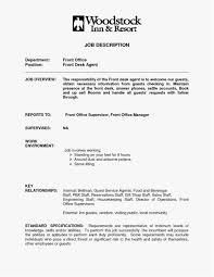 20 Front Desk Receptionist Resume New Best Resume Templates