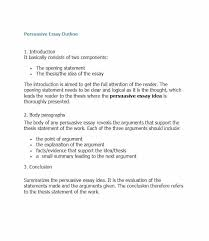 Essay Outline Example Examples Of An Essay Paper Essay Outline