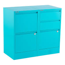 Five Drawer Filing Cabinet Bisley Aqua 2 3 Drawer Locking Filing Cabinets The Container