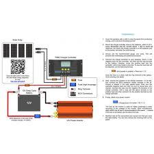 solar controller wiring diagram facbooik com Wiring Diagram Rv Solar System acc e solutions solar charge controllers wiring diagram for rv solar system