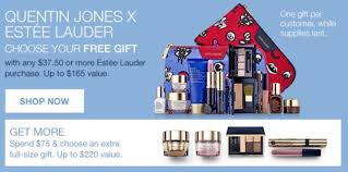 free customizable 7 piece gift from estee lauder