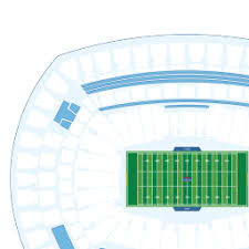 Ny Giants Seating Chart With Rows Metlife Stadium Interactive Football Seating Chart